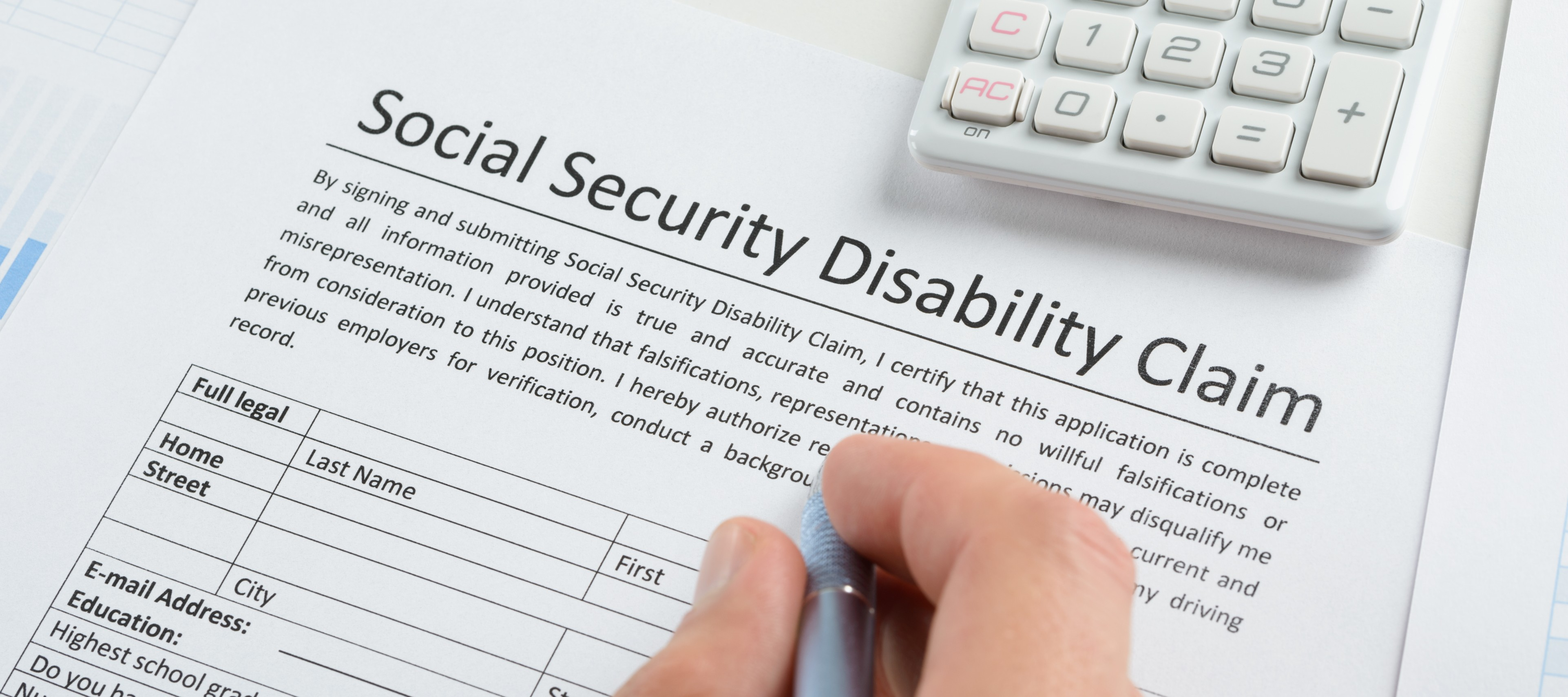 Social Security Disability Form | Do You Qualify For Social Security Disability Benefits In Maryland
