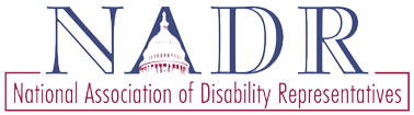 National Association of Disability Represatives Logo